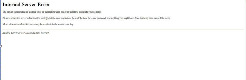 Webtárhely hibák