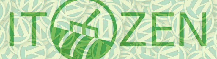 ITZen WordPress weboldal karbantartás