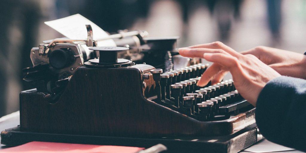még egy klasszikus írógép